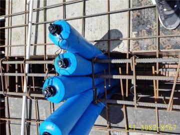快易收口网替代新品-多标号混凝土拦茬隔断气囊推介